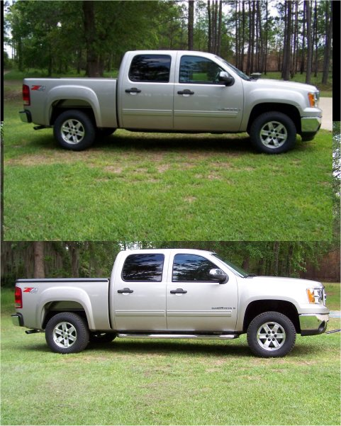 2004 Silverado Leveling Kit Before And After Best Car Update 2019