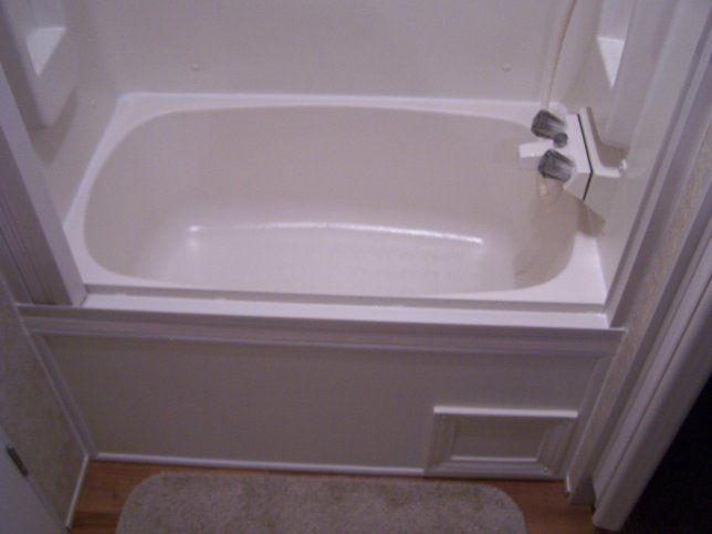 Replacement tub fiberglass or abs outback for Install bathroom in enclosed trailer